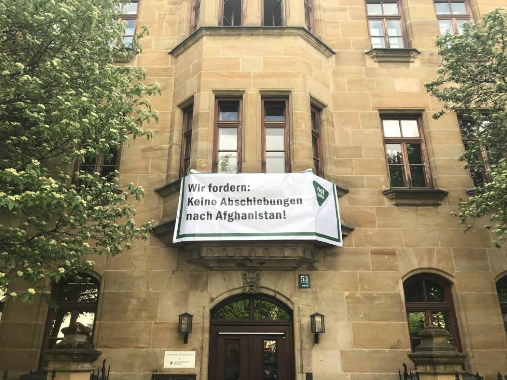 Banner am Münchner FR
