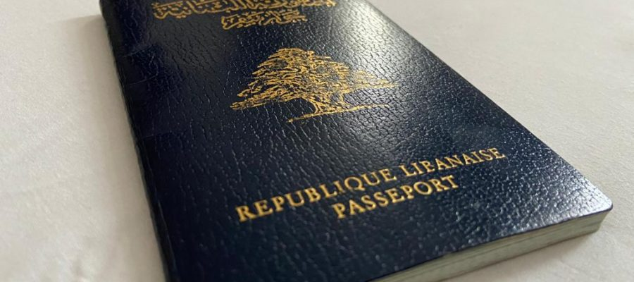 Libanesischer Reisepass